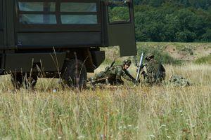 Ada Machen 8 1 Cm Minenwerfer 72 Mw 72 Schussbereit